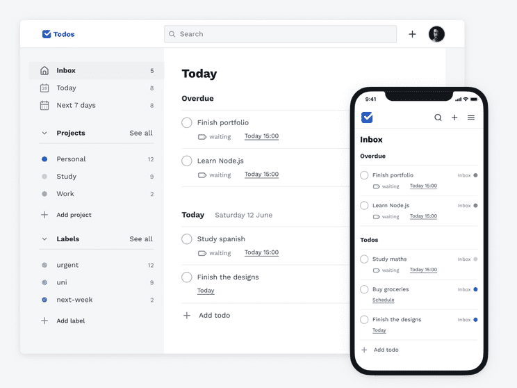 A todo app built with React.js and Firebase that was designed and developed with a strong focus on accessibility and user interaction.